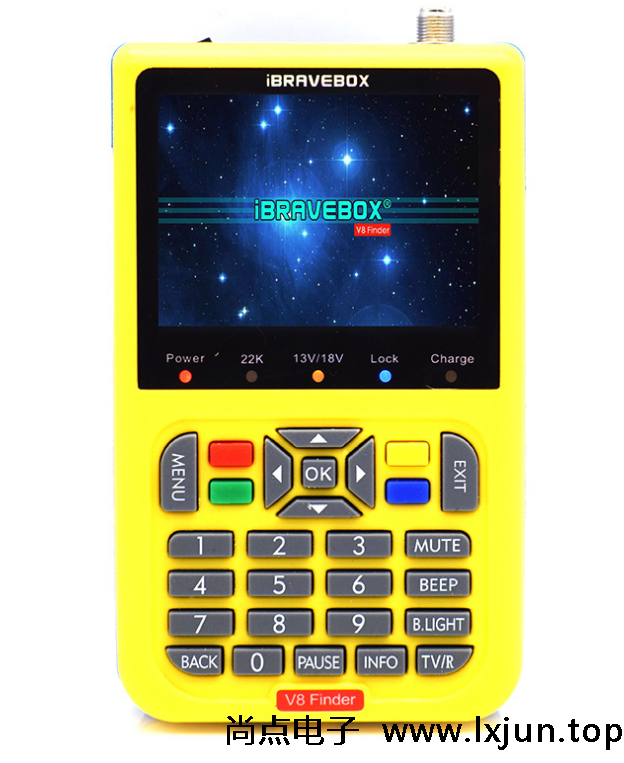 iBRAVEBOX V8 Finder  寻星仪 DVB-S/S2 调星仪